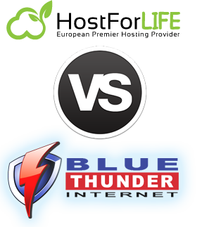 hostforlife vs blue thunder