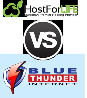 hostforlife vs blue thunder